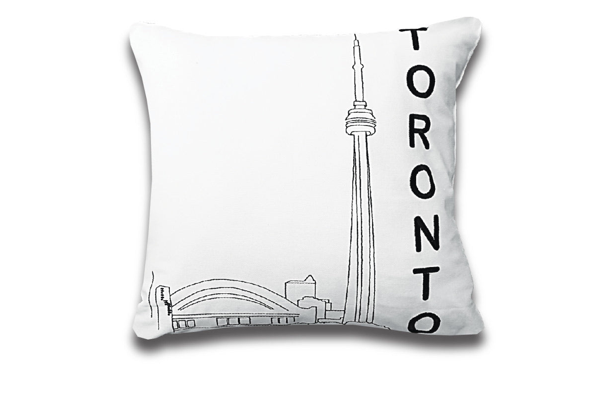Post Card Pillow Toronto