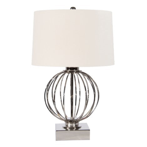 Lamp - Iron Ball Silver