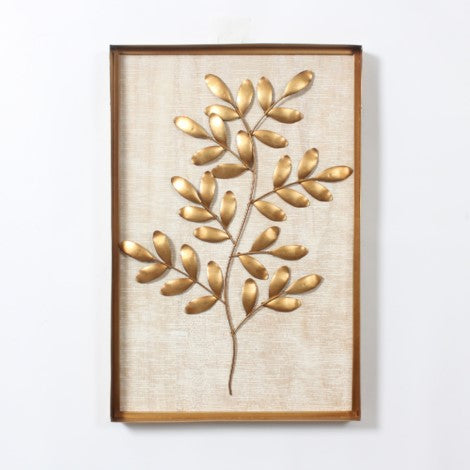 Leaves Wall Art With Frame