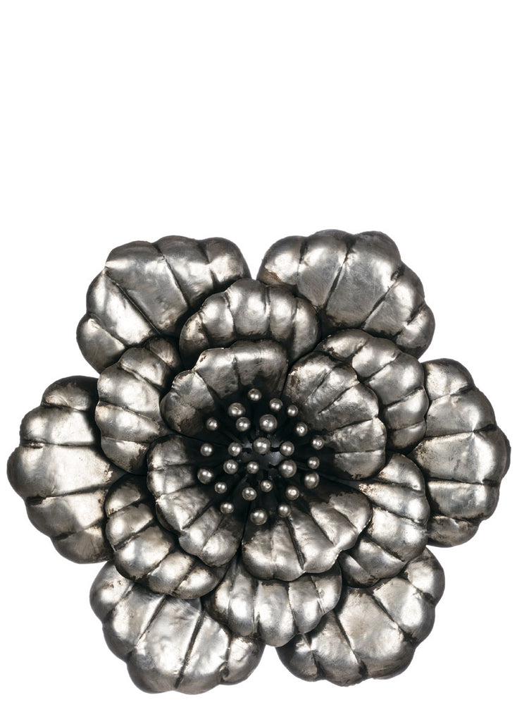 "24"" FLOWER METAL WALL ART"