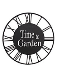 Time To Garden Wall Plaque