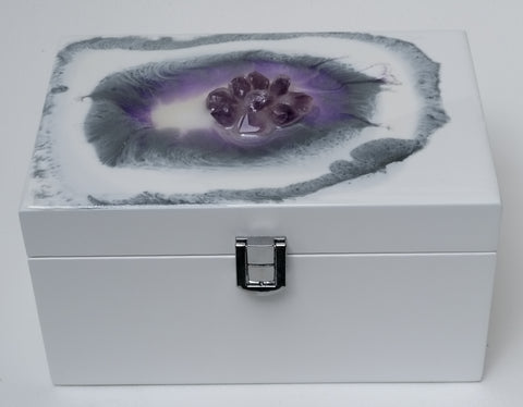 Amethyst Jewellery Box