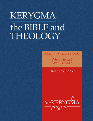 KERYGMA: the BIBLE & THEOLOGY 1 Resource Book by Donald McKim - The Kerygma Program