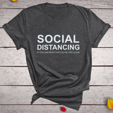 'Social Distancing is Real' Top