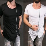 Ultimate Streetstyle Zipper T-Shirt - Ultimate Shopping Lounge