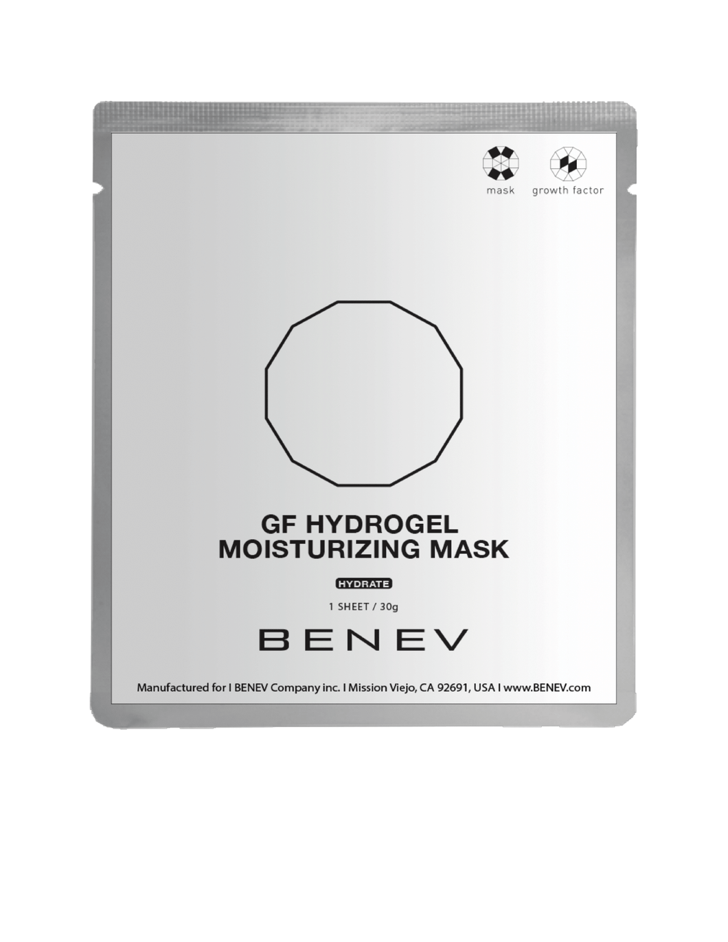 GF-HYDROGEL MOISTURIZING MASK (5 masks)