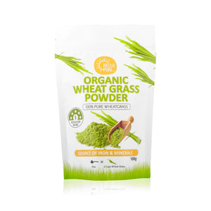 Wheat Grass Powder Organic - 100g