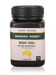 shan Manuka Honey MGO100+ 500g