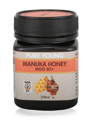 shan Manuka Honey MGO83+ 250g