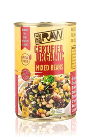 shan Mixed Beans Organic (Cooked)-- BPA Free Can - 400G