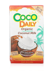 shan Organic Coconut Milk 18% Fat - 1L