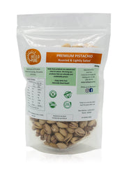 shan Premium Pistachio- Roasted and Lightly Salted - 250g