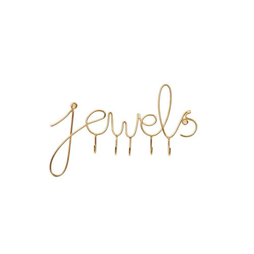 'Jewels' Jewelry Wall Hook