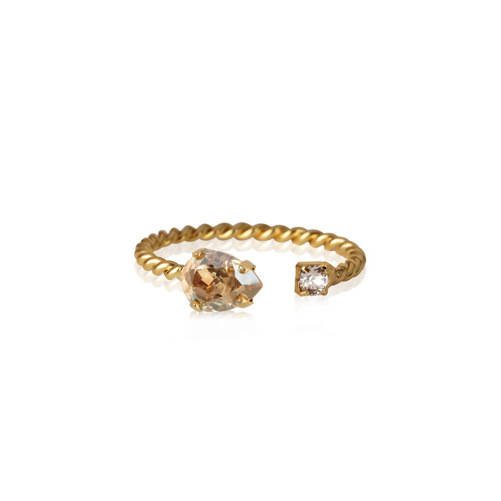 Nani Ring Golden Shadow Swarovski