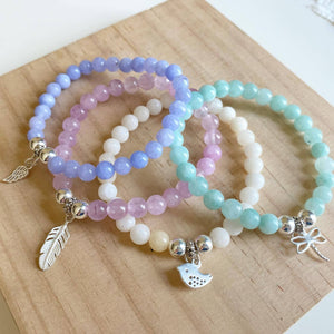Colourful Summer Beaded Bracelets