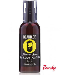 Beard, Hair and Face Wash - Tobacco & Patchouli Scent
