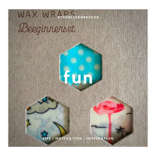 Load image into Gallery viewer, Wax Wraps - Beginners Set
