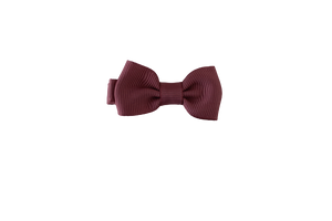 Baby Bows - Candy Cane Red