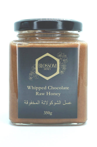 Whipped Chocolate Raw Honey