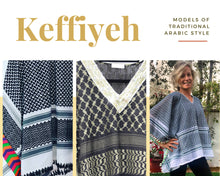 Load image into Gallery viewer, Ghutra Shemag - Keffiyeh Tunic