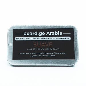 Solid Cologne -Suave- Sweet, Spicy and Pleasant