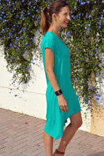 Load image into Gallery viewer, Trapeze Dress - Emerald