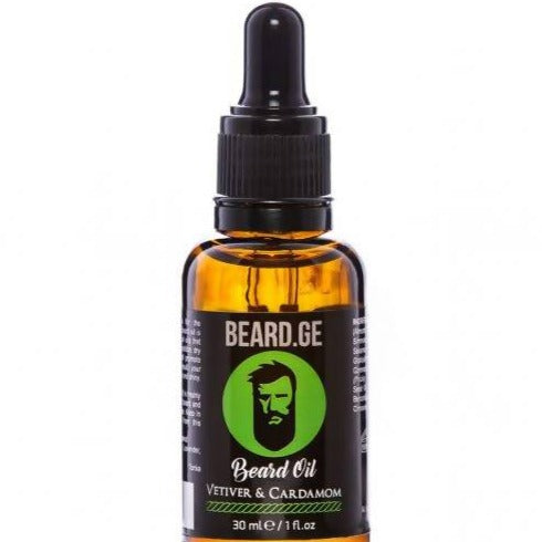 Beard Oil – Vetiver & Cardamom