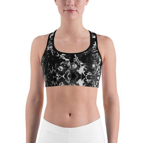 The Cool Ppl Charcoal Sports Bra