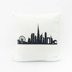 Dubai Skyline Pillow Cover - 1 pc