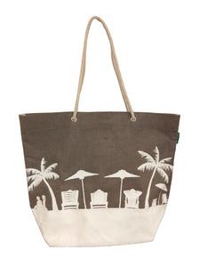Silhouette Beach Bag