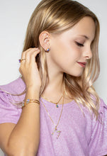Load image into Gallery viewer, Girls Petite Drop Aurora Necklace Swarovski