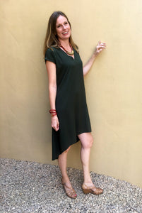 Trapeze Dress - Khaki
