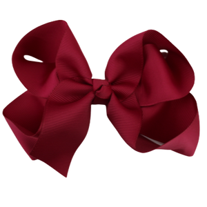 Large Bows - Maroon