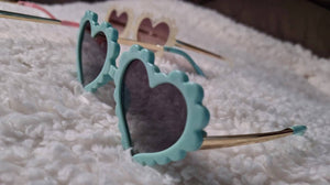 Kylee Heart Shaped Sunglasses