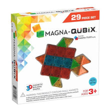 Load image into Gallery viewer, Magna-Qubix® 3D Magnetic Building Blocks 29pc