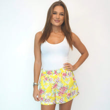 Load image into Gallery viewer, The Chill Shorts - Yellow Summer Floral