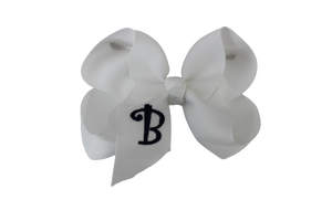 Monogrammed Bows A - L