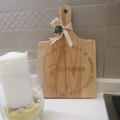 Personalised Engraved Cheese Board