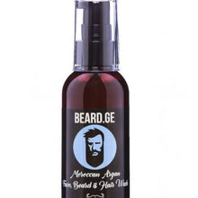 Load image into Gallery viewer, Beard, Hair and Face Wash - Argan & Deep Ocean Scent