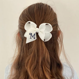 Monogrammed Bows M - Z