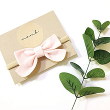 Load image into Gallery viewer, Dainty Velvet Bow