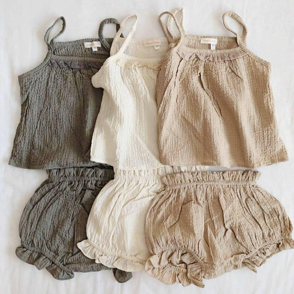 Callista Top and Bloomer Set