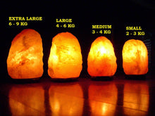 Load image into Gallery viewer, HST's Natural (large) Himalayan Salt Lamp