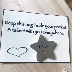 Mini Pocket Hug - Star