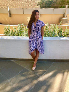 The Fitted Shirt Dress - Hamptons Weekend - Long