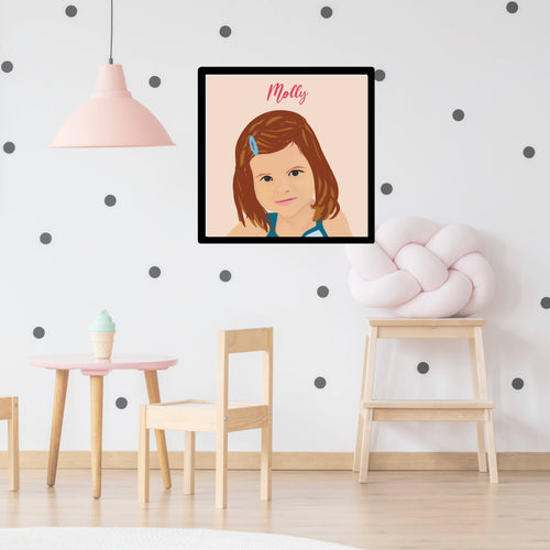 Oversize Framed Portrait (PERSONALISED)