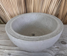 Load image into Gallery viewer, Cement Planter/Pot Small Round Bowl