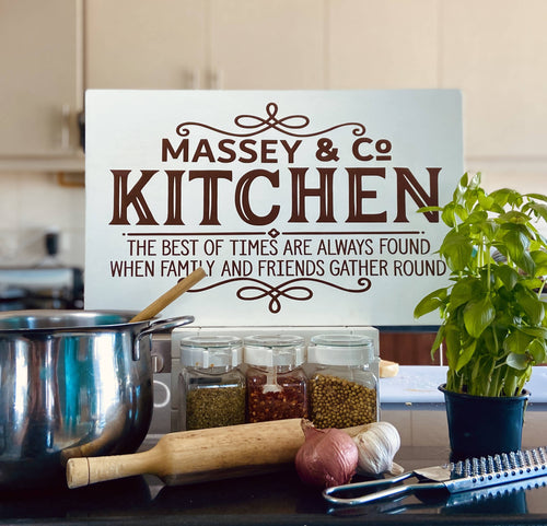 Kitchen/Dining room sign