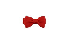 Load image into Gallery viewer, Baby Bows - Candy Cane Red