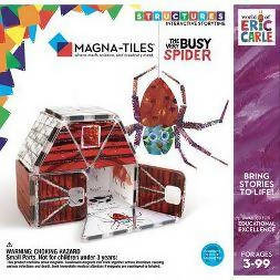 Magna-tiles By Eric Carle | The Very Busy Spider